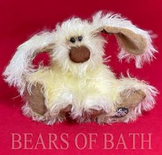 Sherbet the Dog No: S0001 Little Dogs, Bears, Holiday Decor, Little Puppies, Bear, Small Dogs