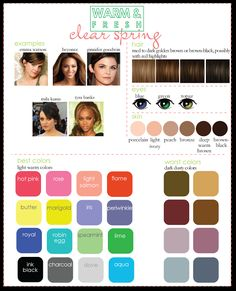 Clear Spring from Warm & Fresh Palette