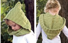 Ravelry: Kombu Moebius Cowl & Hood pattern by Kendra Nitta