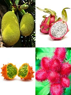 10 Strange-Looking Things That Are Actually Fruit Discover healthy, tasty treats hiding in unbelievable packages. Looking for more strange fruit? Check out these 50 fruits and veggies you've never heard of. By Brianna Steinhilber Weird Fruit, Strange Fruit, Weird Food, Fruit And Veg, Fruits And Veggies, Fresh Fruit, Vegetables, Fruit Art, Fruit Food