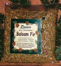 Approximately 16 ounces of ground balsam fir. Great for scented sachets and pillows or even potpourri!