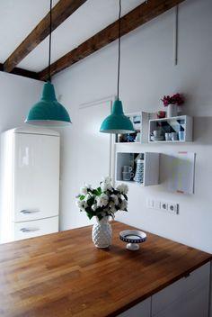 DIY der Woche - lackierte Lampen von Leelah