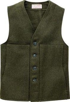 For my special husband - Filson® Mackinaw Wool Vest, Men's Big Game Vests, Men's Layering Clothing, Men's Hunting Clothing, Clothing : Cabela's