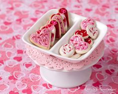 Pink Iced Cookies American Girl Doll Food