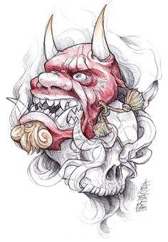 shigeki.zumi: tattoo sketchbook: 011 by fydbac.deviantart.com on @deviantART