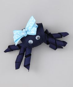 Take a look at this Loopy Loos Navy Crab Clip by Loopy Loos on #zulily today!