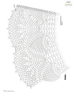 Crochet Shawl Wrap Capes Charts Ideas For 2019 Crochet Collar Pattern, Crochet Yoke, Crochet Skirts, Crochet Diagram, Crochet Chart, Crochet Clothes, Crochet Stitches, Knitting Patterns, Crochet Patterns