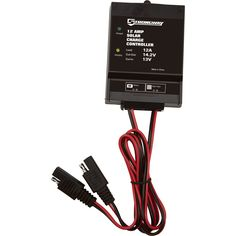 Strongway Solar Charge Controller - 180 Watts, 12 Amps. Strongway Solar Charge Controller gives you maintenance-free protection for your batteries and 12V solar panels. Keeps 12V batteries in a fully charged state and maintains battery voltage while protecting against overcharging and high voltage surges. Amps 12, Product Type Charge controller, Watts 180. Handles up to 180 Watts of solar power Easy-to-read LED light indicators show charged/charging status Built-in blocking diode prevents...