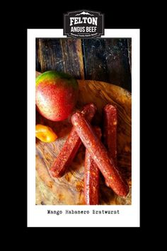 A bold combo of sweet and heat, this all beef bratwurst is calling for the grill. You'll love every bite of sweet tropical mango blended with spicy habanero peppers. #beef #brat #mango #habanero #peppers Sweet And Sour Beef, Beef Skillet Recipe, Easy Mongolian Beef, Beef Appetizers, Beef Skewers, Steak Fajitas, Angus Beef, Beef And Noodles, Beef Casserole