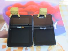 danboard loves both  Kindle Fire HD and Nexus 7