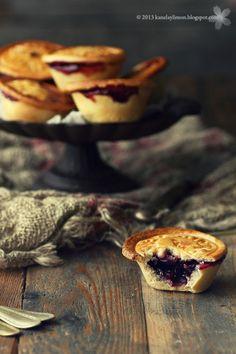 """Kanela y Limón: Mini tartas de cerezas """"Home Made"""""""