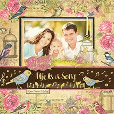 Song Birds Dazzles™ Scrapbooking Stickers by Hot Off The Press Inc (4102836)
