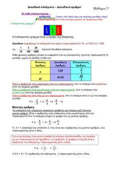 ΜΑΘΗΜΑΤΙΚΑ Periodic Table, Education, Math, School, Kids, Young Children, Periodic Table Chart, Boys, Periotic Table