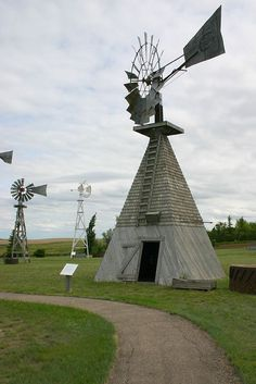 Canadian National Historic Windpower Centre. Photo by John MacDermid