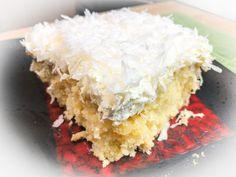 Coconut Recipes, Tea Recipes, Dessert Recipes, Desserts, Sweets Cake, Cupcake Cakes, Cupcakes, Bakery Style Cake, Coconut Poke Cakes