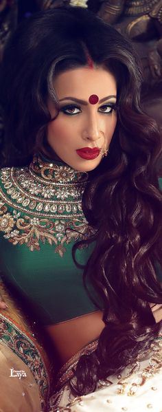 Indian Bride- love the blouse