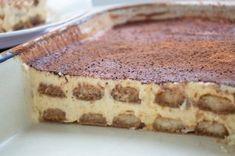 Classic Tiramisu - With this recipe you can prepare the popular Italian dessert Tiramisu Dessert, Baking Recipes, Cake Recipes, Dessert Recipes, Italian Desserts, Italian Recipes, Italian Foods, Dessert Sauces, Great Desserts