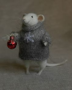 Merry Christmas from a wonderful little mouse