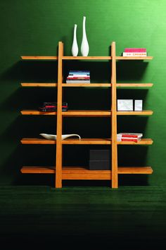 Shop Greenington Magnolia Caramelized Tiger Bamboo Shelf with great price, The Classy Home Furniture has the best selection of Bookcases to choose from Diy Bookshelf Design, Creative Bookshelves, Bookshelf Styling, Diy Bookcases, Cube Bookcase, Etagere Bookcase, Small Bookshelf, Bookshelf Plans, Bookshelf Ideas