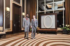Same-sex wedding at Mandalay Bay | LGBTQ Las Vegas wedding inspiration #UniversalLove