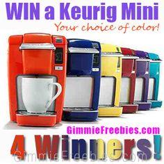 Giveaway: Win a Keurig Mini – 4 Winners!