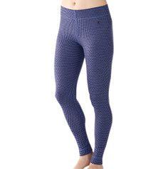 Women's Merino Wool Midweight Pattern Bottom - ShepsSports.com
