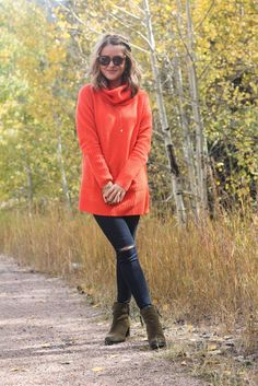 Bright Orange Is A Do for Your Fall Wardrobe - Every Once In A Style