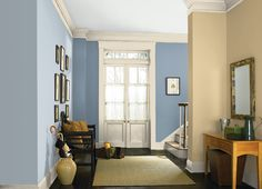 Light French Gray - One of the best blue/gray paint colors. Light French Gray - One of the best blue/gray paint colors. Kitchen Paint Colors, Room Paint Colors, Paint Colors For Living Room, Living Room Grey, Bedroom Colors, Living Room Decor, Living Rooms, Apartment Living, Wall Colors