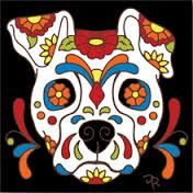 Dog Sugar Skulls - I never thought of this.