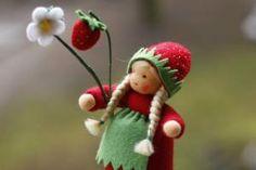 Sweet strawberry doll