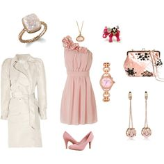 This reminds me of something I'd wear to a Mary Kay event ;)