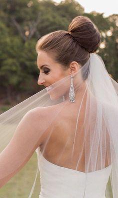 classy updo wedding hairstyle; photo: Sean and Amanda Photography