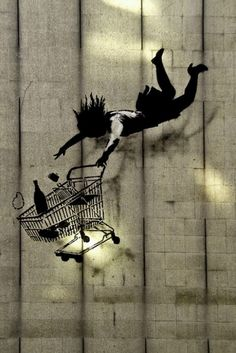 Banksy .... Hmmm could we use this one?