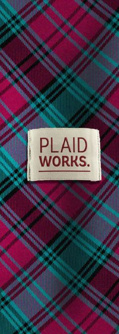 Official Alma College Tartan from Plaid Works