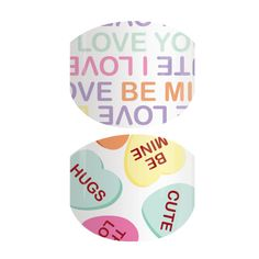 School Crush | Jamberry Valentines Day manicure  Super cute Juniors nail wrap for your little Valentine!