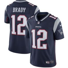 Tom Brady New England Patriots Nike Youth Vapor Untouchable Limited Player  Jersey - Navy a8d542640