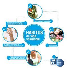 #TipDeSalud Adopta estos hábitos y tendrás una vida plena y saludable.