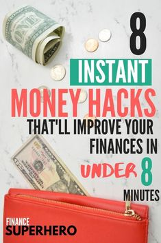Saving Money Plan 173388654391343935 - These 8 quick and easy money hacks will help you make a plan and get on track to achieve your money goals. If you've got 8 minutes and want to save money, you need to read this. Source by FinanceSuprhero