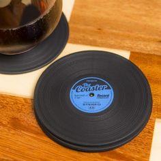 Balvi Vinyl onderzetters (set van 4)
