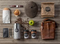 Gawatt Take-out Coffee-shop on Packaging of the World - Creative Package Design Gallery