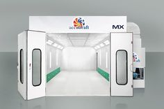 Single Skin Sidedraft Spraybooth