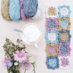 Working with pastels - Scheepjeswol Stonewashed yarn
