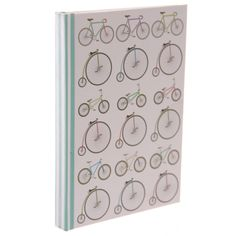 Retro Rides Notebook #retrobike #notebook #stationery #giftware