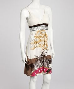 Take a look at this White Stacee Dress on zulily today!