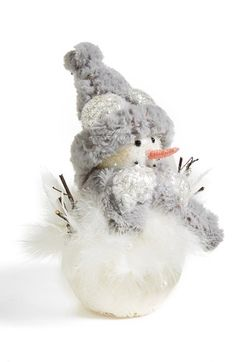 Shea's Wildflower 'Sammy the White' Snowman available at #Nordstrom