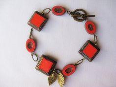 Tangerine Melon Bracelet. $15.00  LOVE!