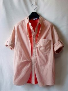 hussein chalayan/フセインチャラヤン レイヤード シャツ size46deconstructed shirt...