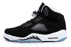 Air Jordan Shoes Air Jordan 5 Oreos Black White [Air Jordan 5 - It features the classic plastic grated mesh along the side panels. Some noticeable features include the clear lace locks, clear outsole, which come up the sides of the shoe at some parts. Jordan 5, Jordan Shoes For Kids, Michael Jordan Shoes, Air Jordan Shoes, Jordan Swag, Air Jordan Retro, Air Jordans, Cheap Jordans, New Jordans Shoes