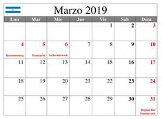 Calendario Marzo 2019 Argentina Periodic Table, March, Calendar, Argentina, Summer Time, Periodic Table Chart, Periotic Table