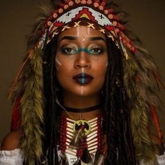 Native American symbol for Libra is the Raven - Nature Native American Makeup, Native American Face Paint, Native American Headdress, Native American Quotes, Native American Women, Native American Indians, American History, Native American Photography, Tribal Makeup